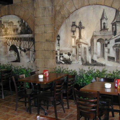 Cafeteria Hotel Las Acacias Puente Genil Córdoba