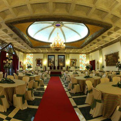 Salón Fosforito del Hotel Las Acacias Puente Genil Córdoba